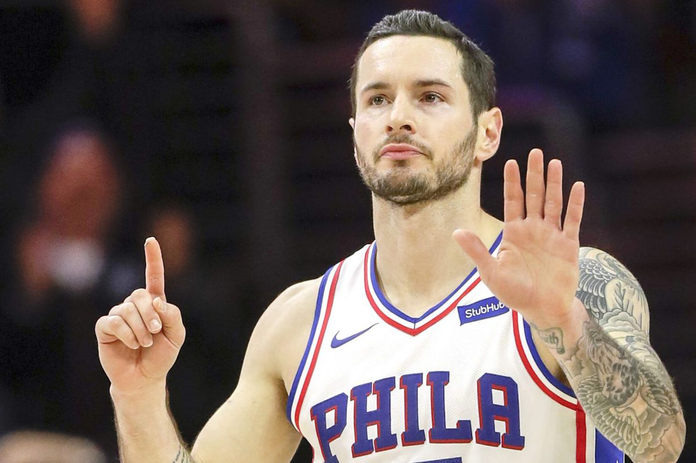 Ebbs and flows: Sixers' JJ Redick knows the routine