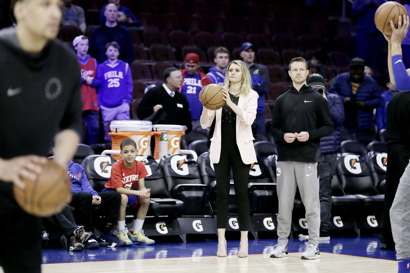 Dr. Annelie Schmittel is the fearless and empathetic VP the Sixers — and little girls with dreams — turn to