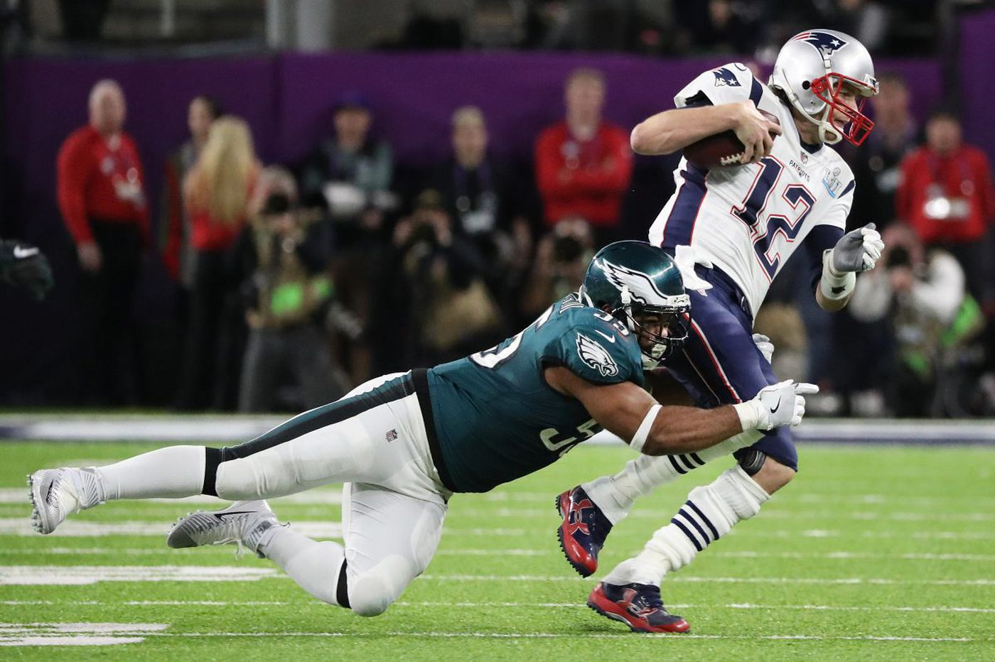 official photos ebe72 48099 Brandon Graham saved the day for Eagles in Super Bowl LII ...