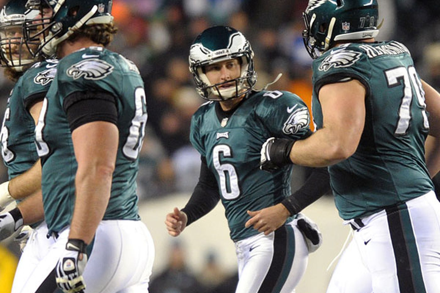 Eagles' Henery not worried about competition for job