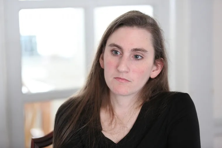 Jess Beyer worked for the Cadets from 2007 to 2009 and says she was raped by the corps former director, George Hopkins.