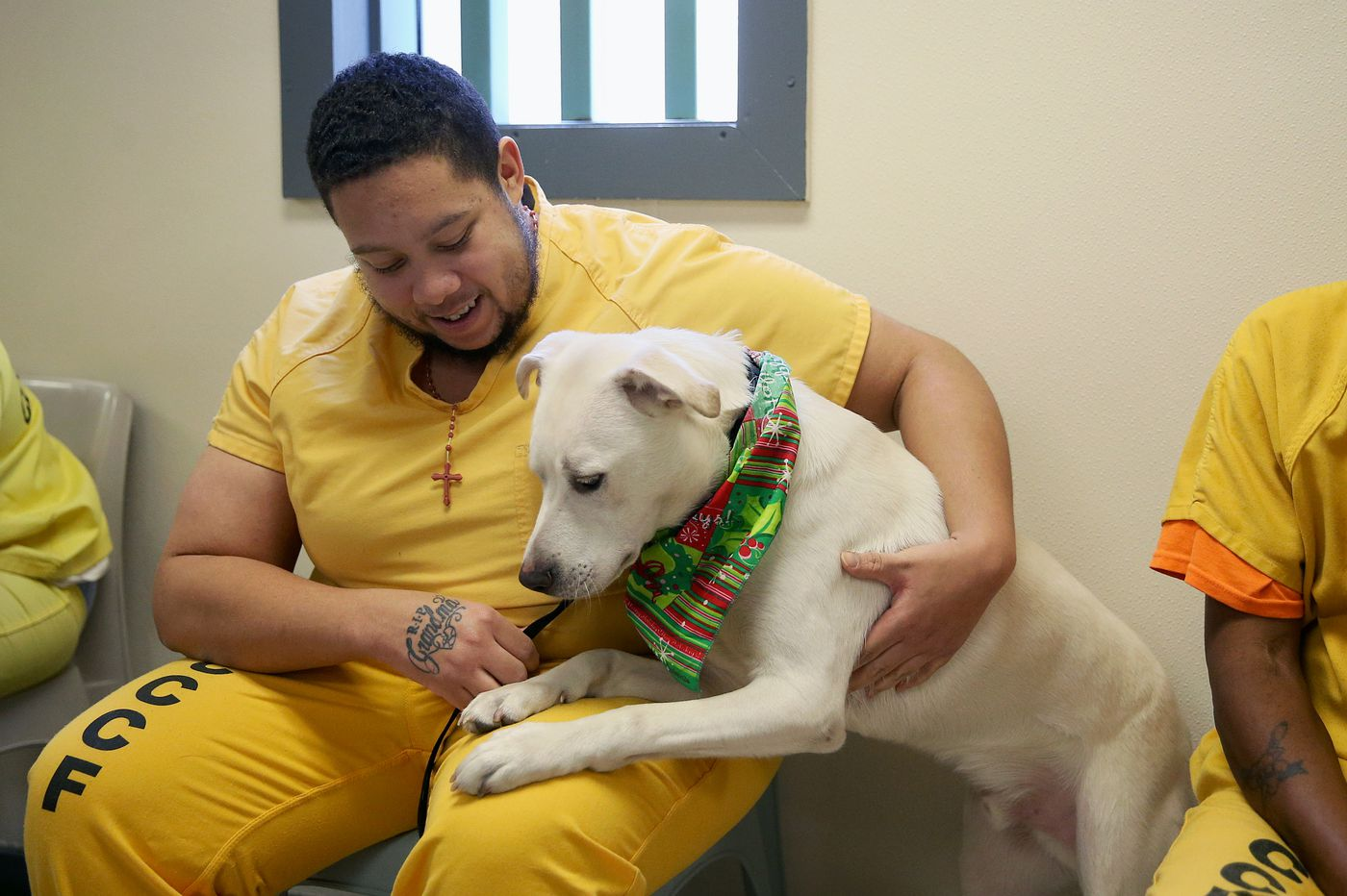 Love at first sight: South Jersey inmates are helping train service dogs for veterans