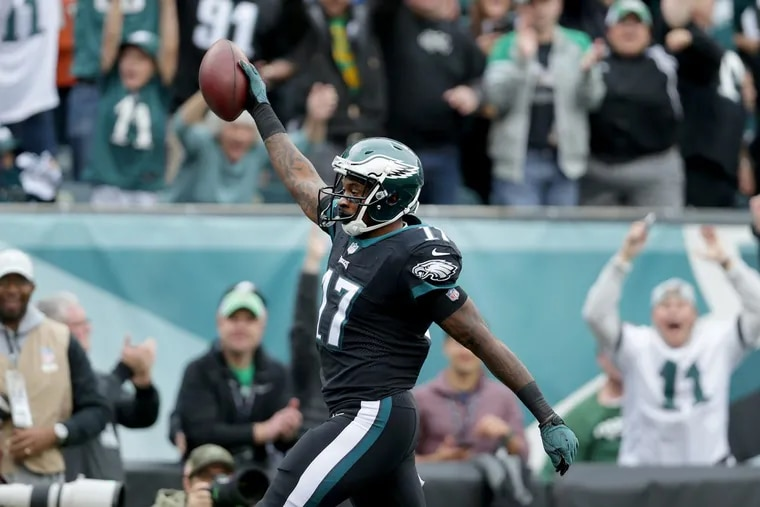 Philadelphia Eagles wide receiver Alshon Jeffery will receive $52 million over four years, with $27 million guaranteed, from his new contract extension.