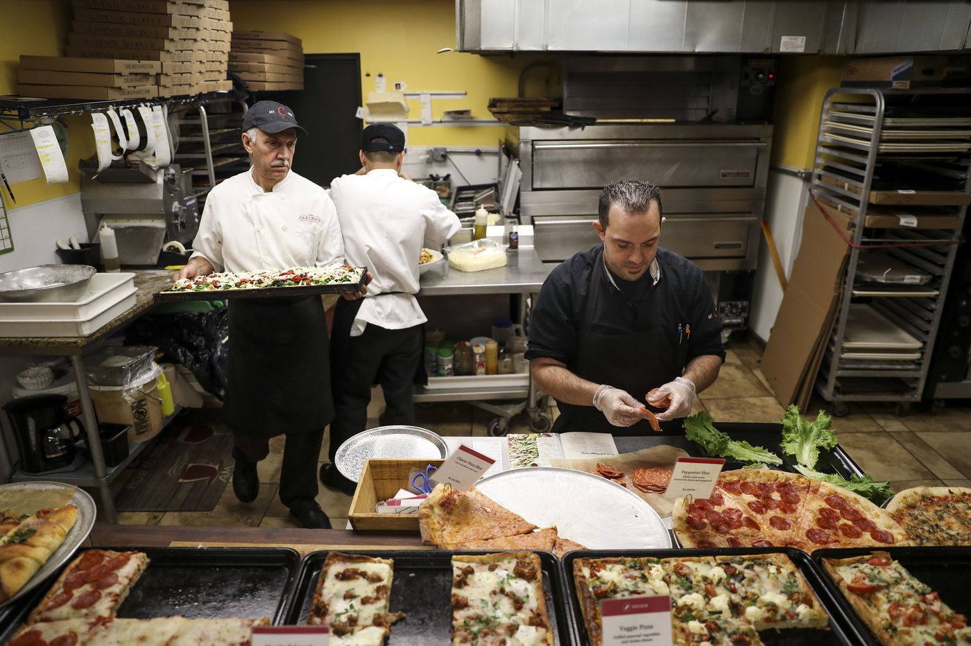 Carlino's in Ardmore on Christmas Eve is a madhouse of Italian-grandmother food and love. | Maria Panaritis