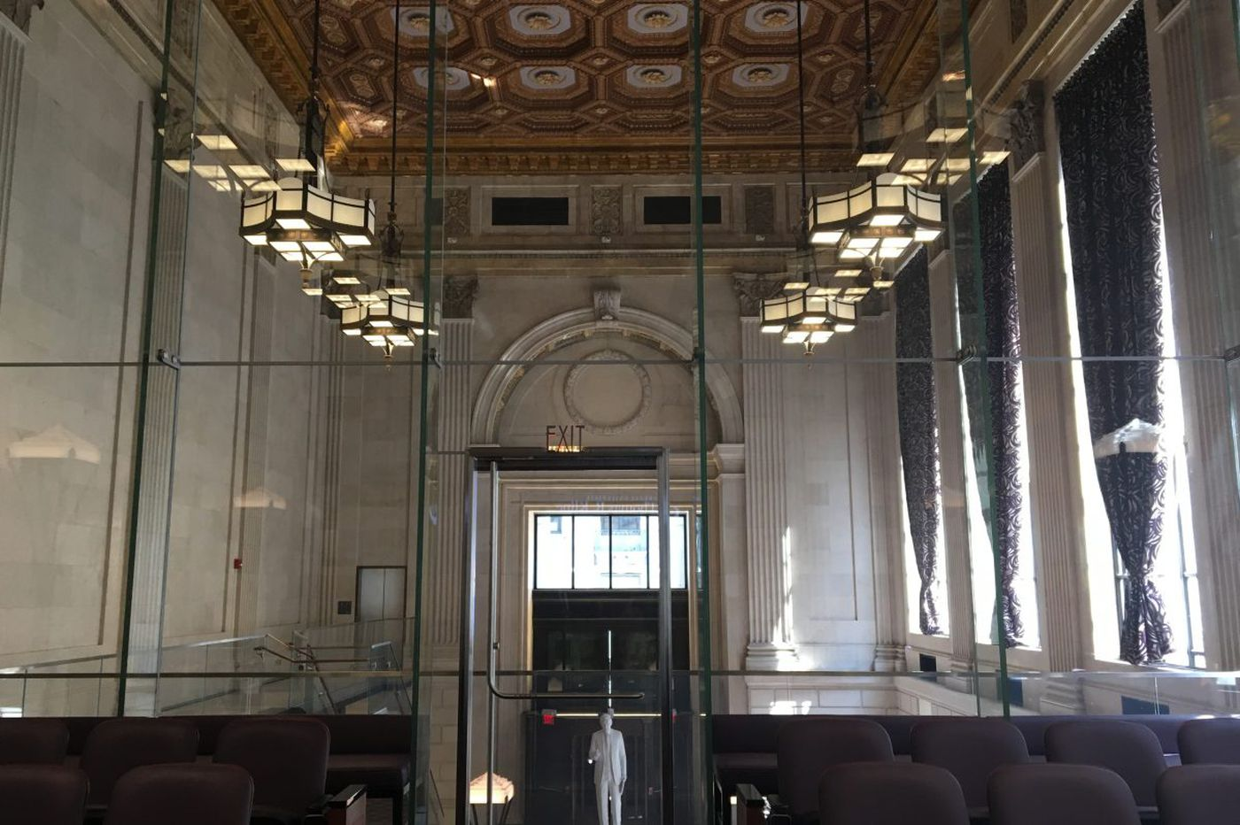 How a Philadelphia lawyer turned a historic bank into a shrine to democracy (and his legal career)