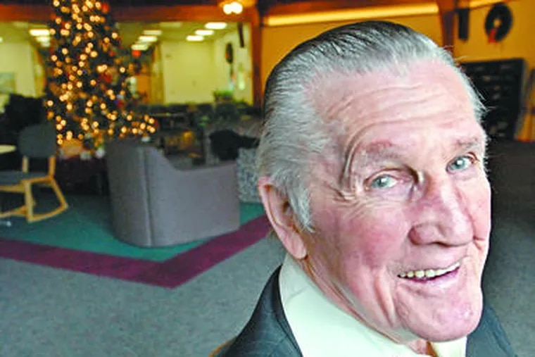 Clyde Bertram, sober for 62 years, is retiring from Livengrin Foundation in Bucks County, where he started working at 75.