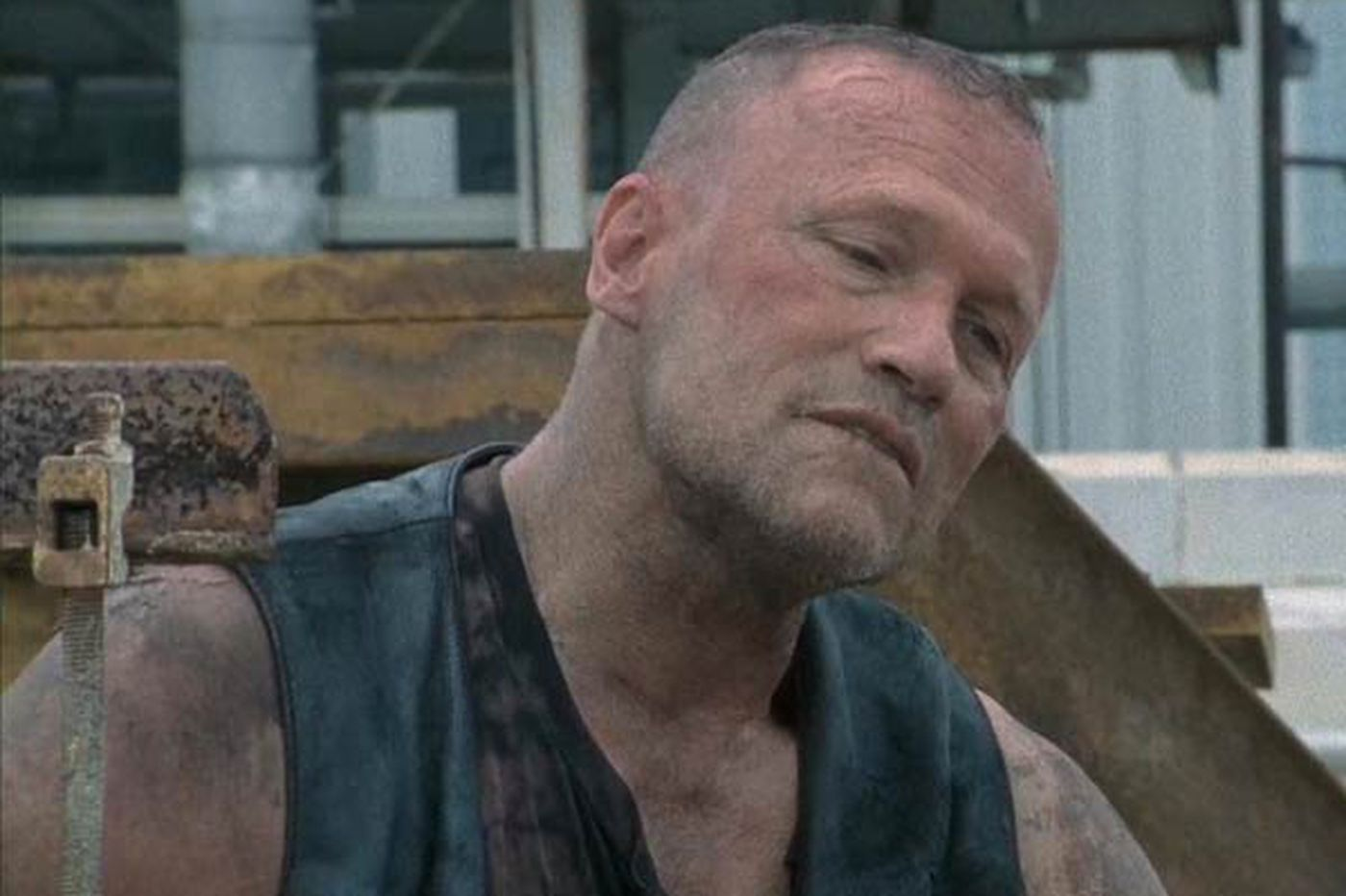 Like his Merle Dixon, Michael Rooker's a straight-up guy & that's no Con job