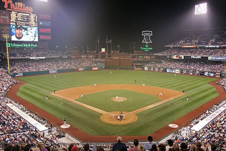 Citizens Bank Park has helped raise attendance by two million and the franchise value by 300-plus percent. (Jerry Lodriguss / Staff File Photo)