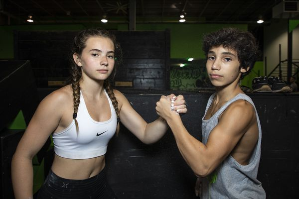 These American Ninja Warrior Juniors television stars are about strength, agility, flexibility - and community.