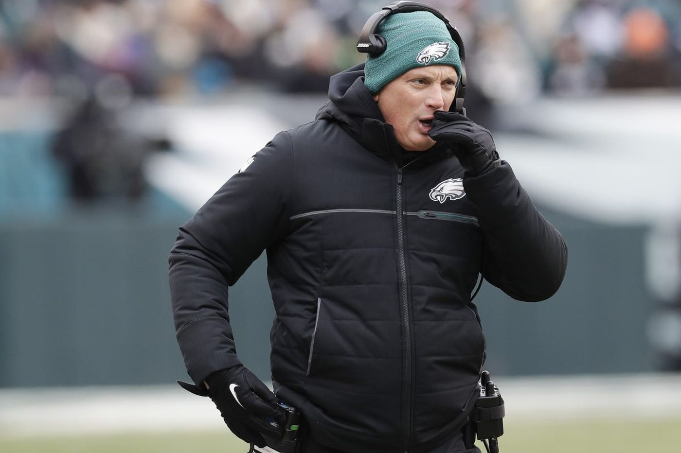Eagles' Jim Schwartz says he's focused on Falcons, not coaching vacancies