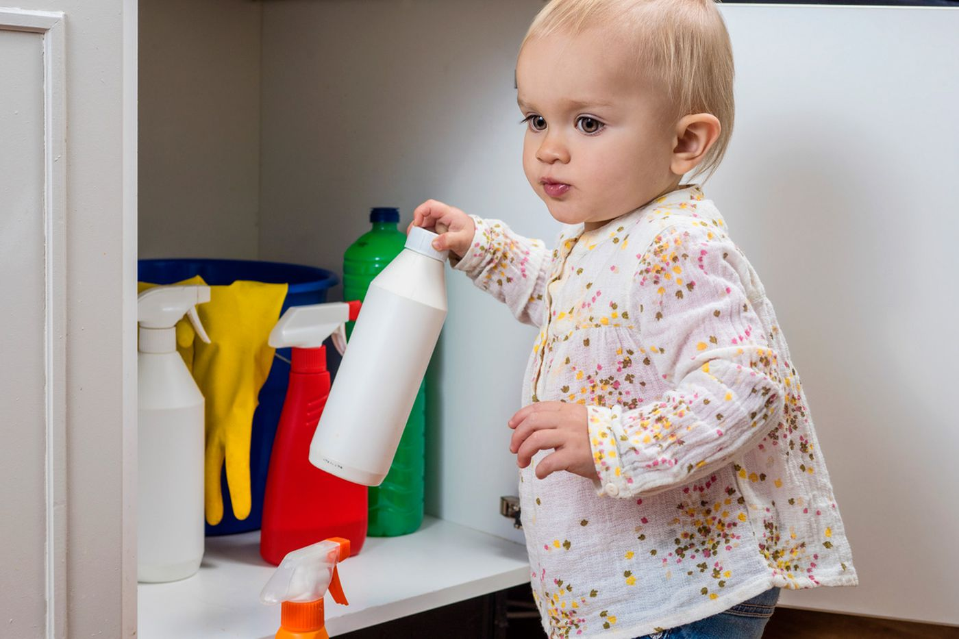 Early exposure to household cleaners could lead to overweight kids