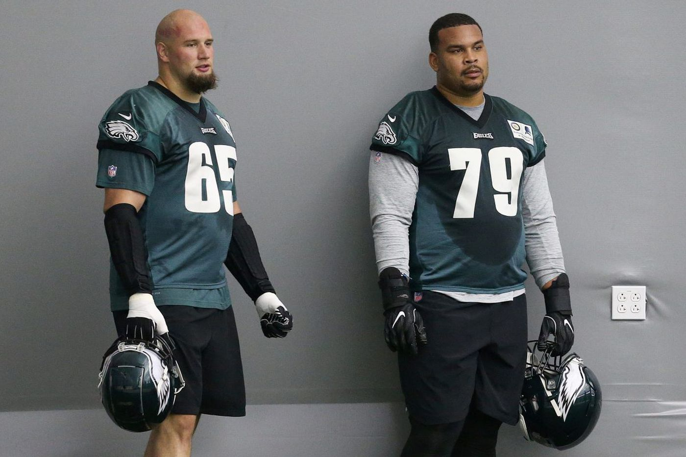 Eagles tackle Lane Johnson has found peace and respect on the right side