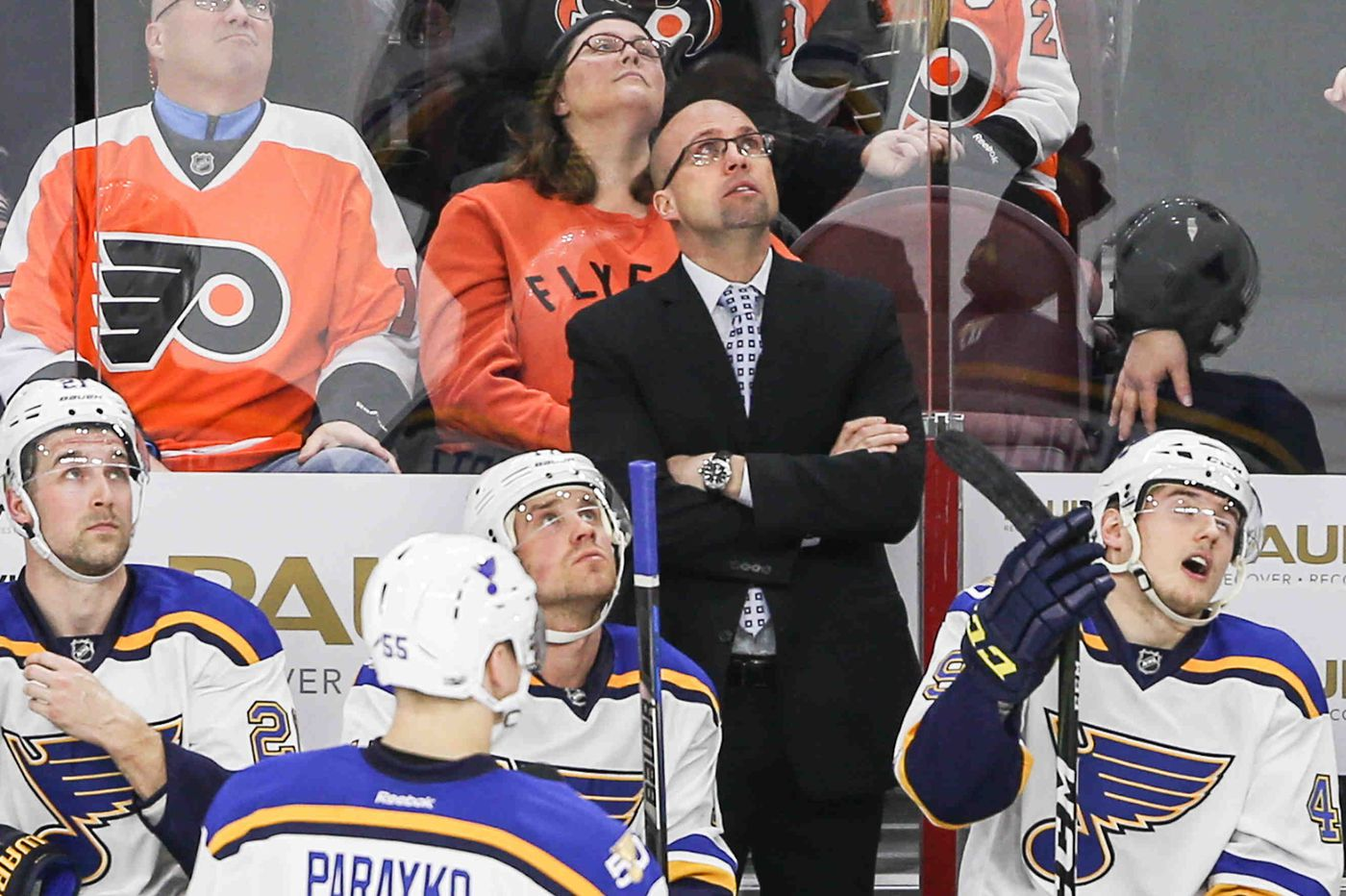 Flyers add 2 former National Hockey League head coaches to coaching staff