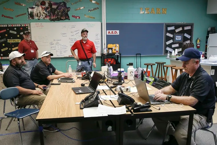 Delaware County's volunteer citizens corps, formed in 2010, has been activated to help respond to the coronavirus. The team's leaders have set up shop in the shuttered Glen Mills School, turning it into a staging place for planning how best to aid first responders and community organizations.
