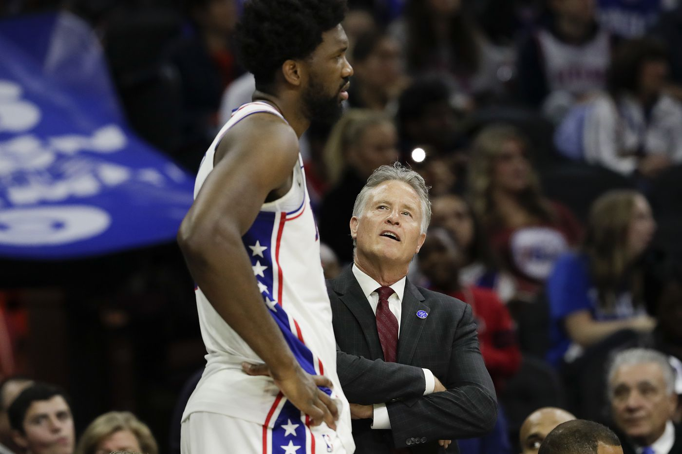 What's going on with the 76ers?