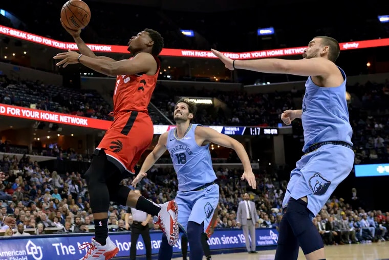 Kyle Lowry, the north Philly native is having one of his best seasons yet.