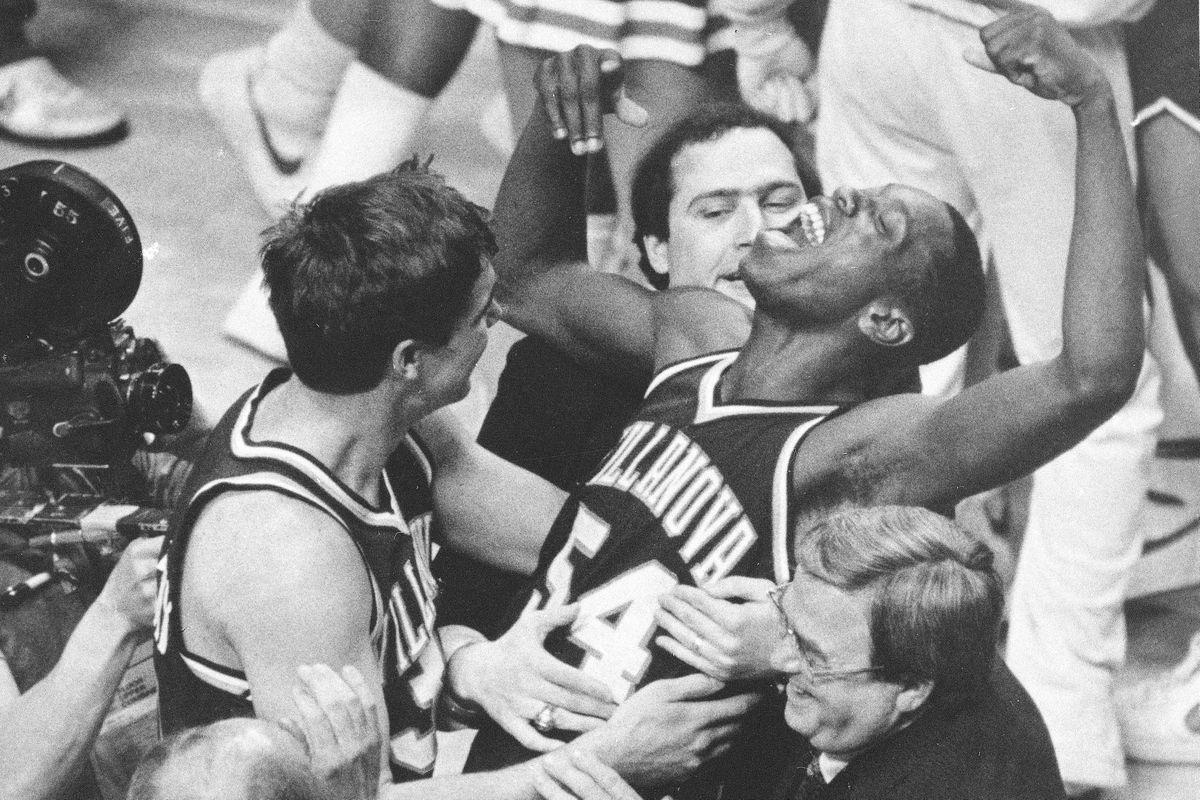 Villanova beats Georgetown again in 1985 NCAA title game
