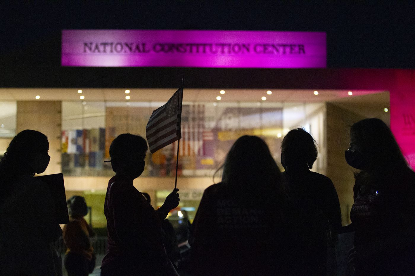 'Can he actually do that?' Philadelphia's Constitution Center is now the answer authority for a nation in government stress