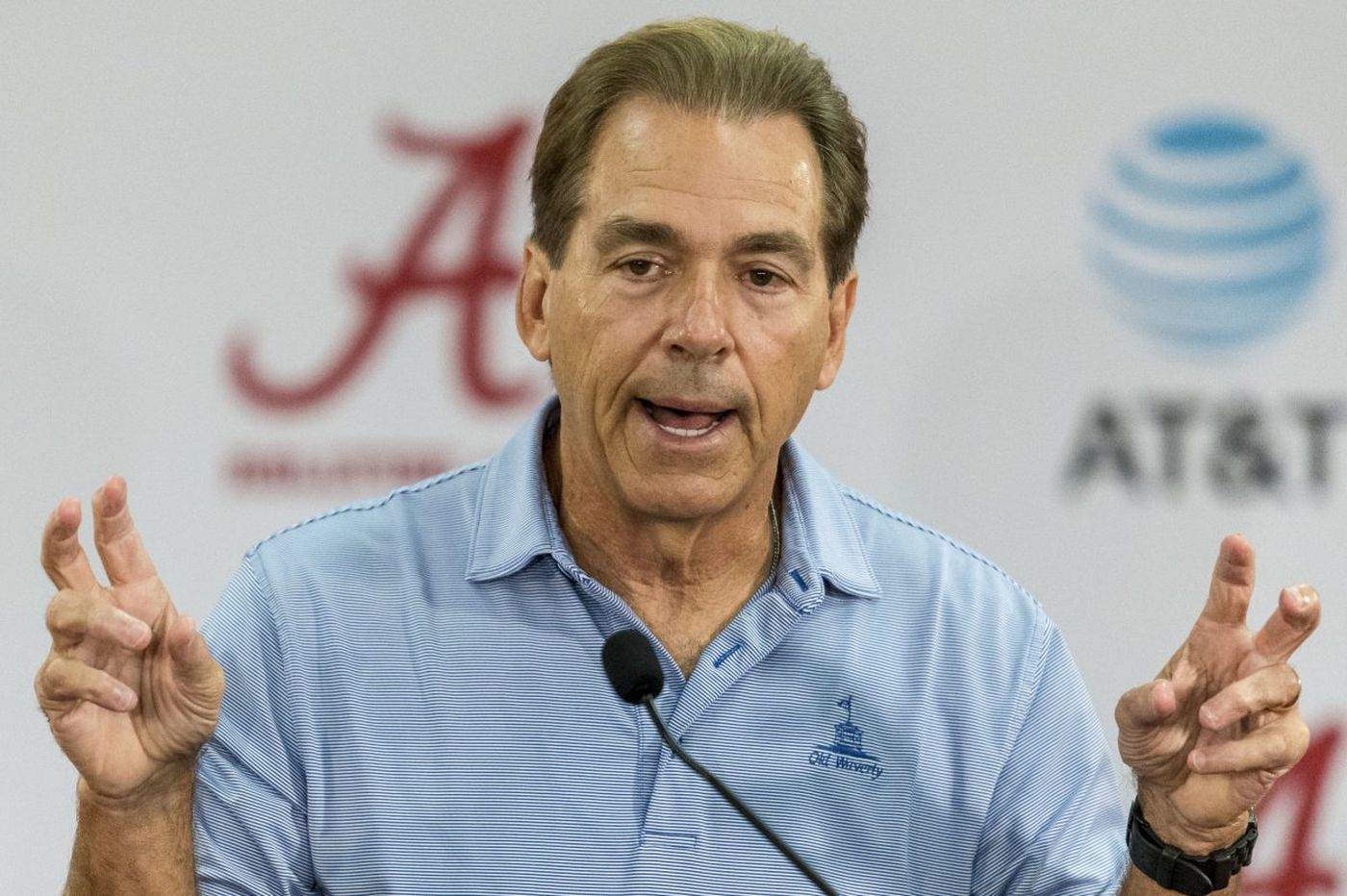 What does Nick Saban think about being No. 2? Don't ask | College football watch