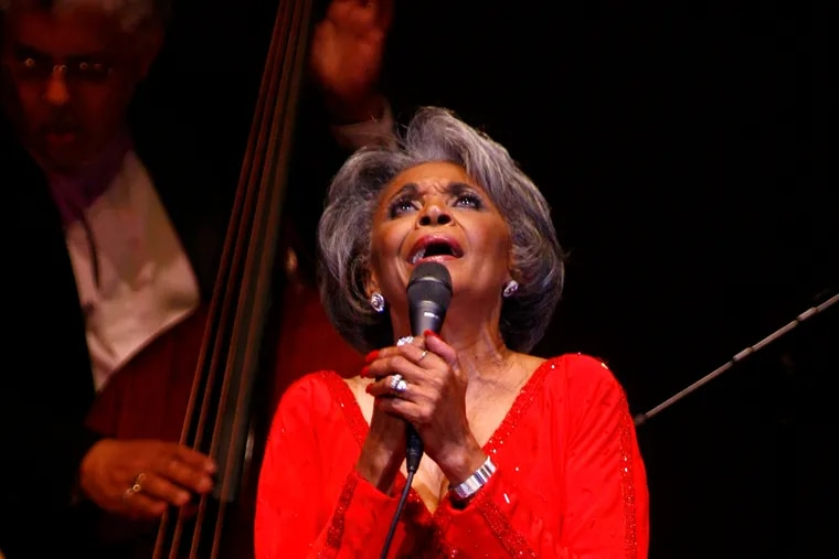 In this June 29, 2007 file photo, singer Nancy Wilson, performs at her Swingin' 70th Birthday Party at Carnegie Hall in New York. Grammy-winning jazz and pop singer Wilson has died at age 81. Her manager Devra Hall Levy tells The Associated Press late Thursday night, Dec. 13, 2018, that Wilson died peacefully after a long illness at her home in Pioneertown, a California desert community near Joshua Tree National Park. (AP Photo/Rick Maiman, File)