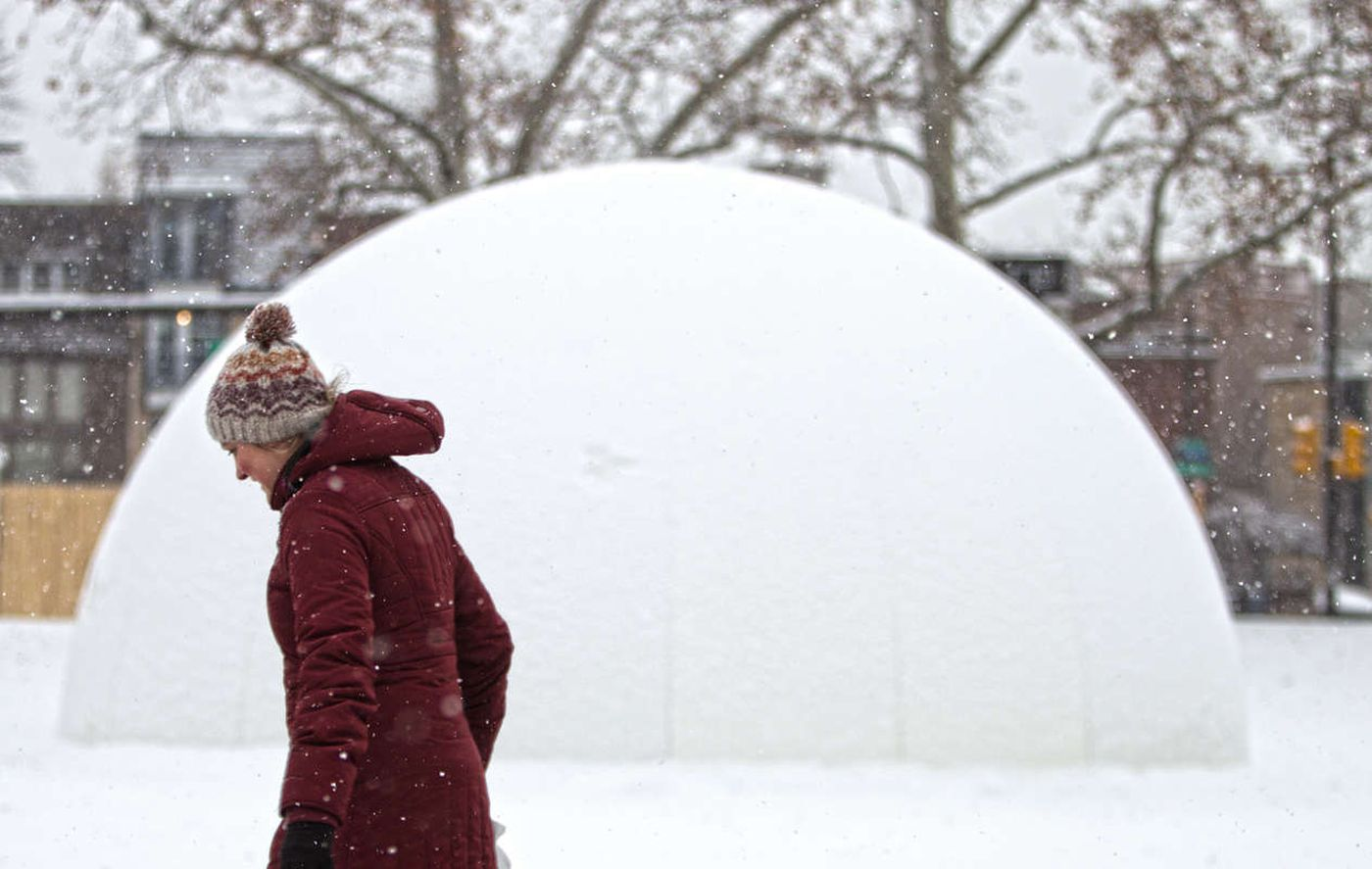 Weather delay: Snow arrives late, sets record … and stays late