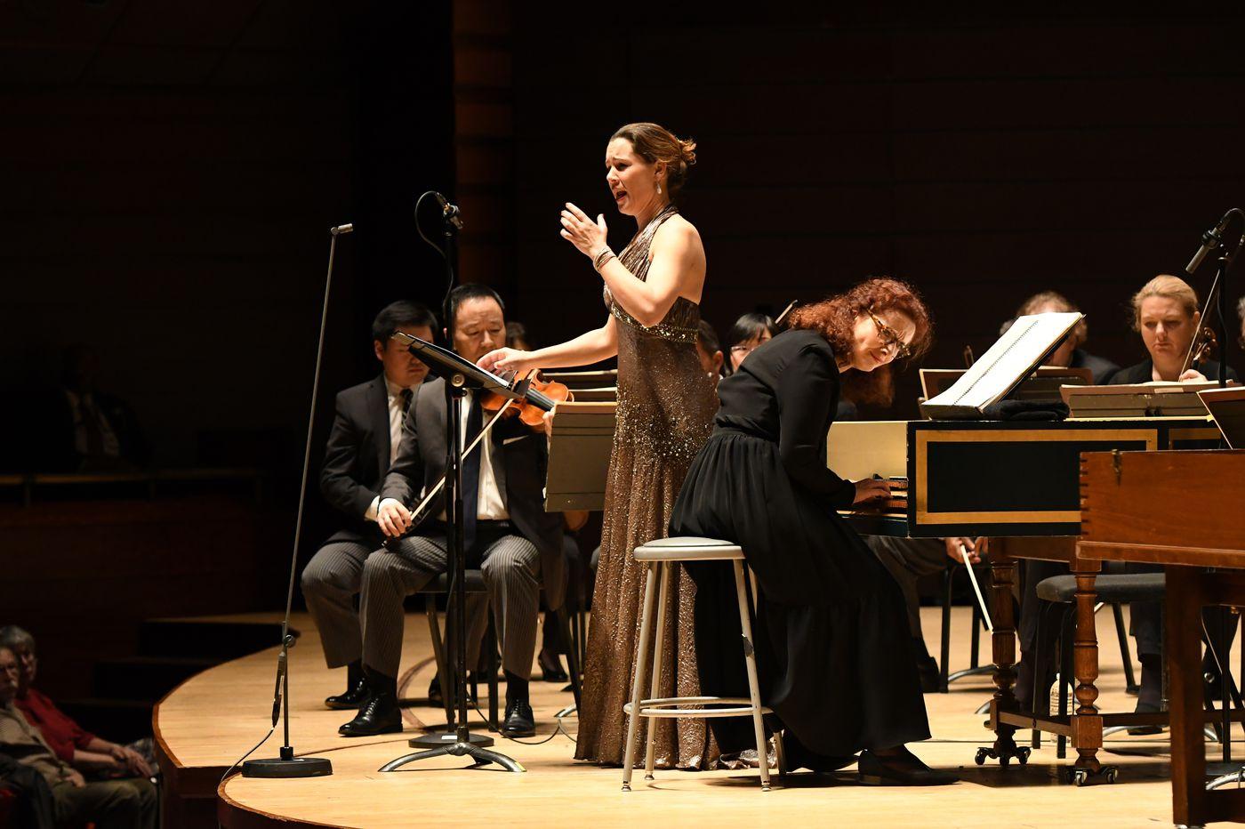 Conductor Emmanuelle Haïm and soprano Lenneke Ruiten make Philadelphia Orchestra debut