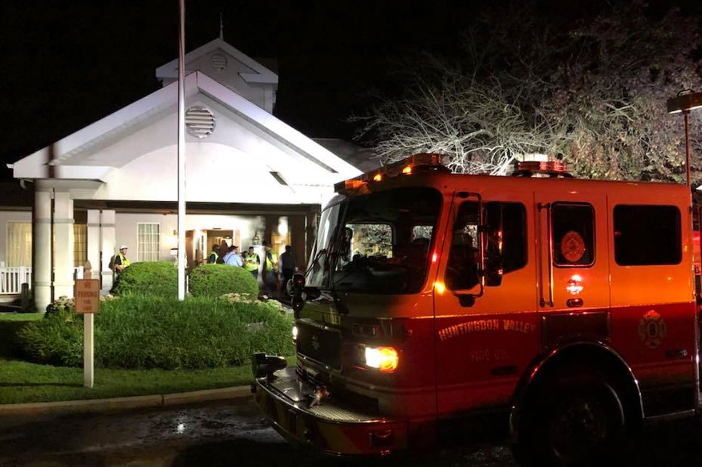 Montgomery County nursing home residents transported to other locations after air conditioner fire
