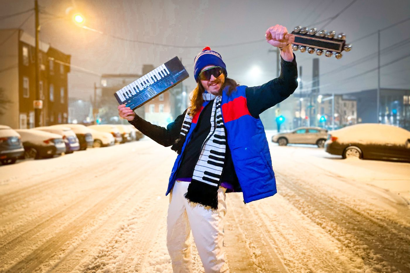 Have a merry little Philly-band Christmas. All your favorite acts have new holiday songs.