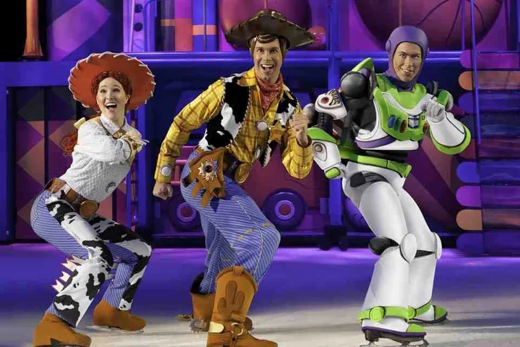 """Jessie, Woody, and Buzz Lightyear are the leading characters in the show, which also includes moments from the first two """"Toy Story"""" films."""