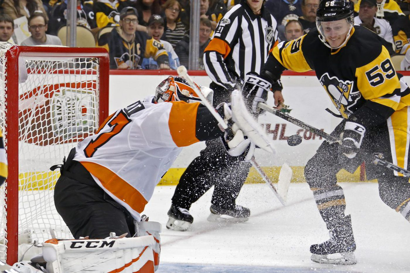 Flyers collapse at the end, lose in OT to Penguins as losing streak reaches 8