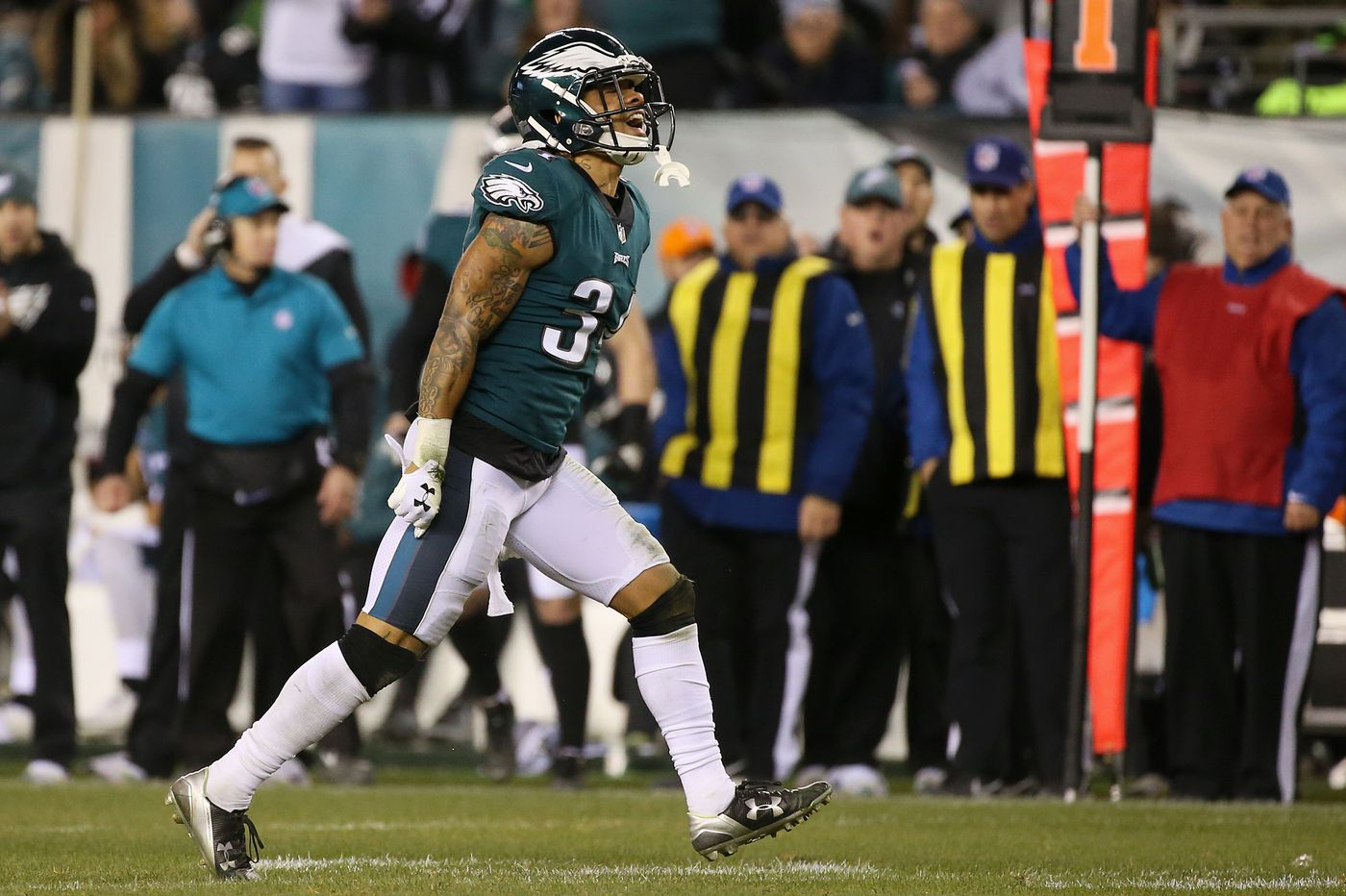 Cre'Von LeBlanc was surprised Eagles released him to clear roster spot last weekend, but he chose to return