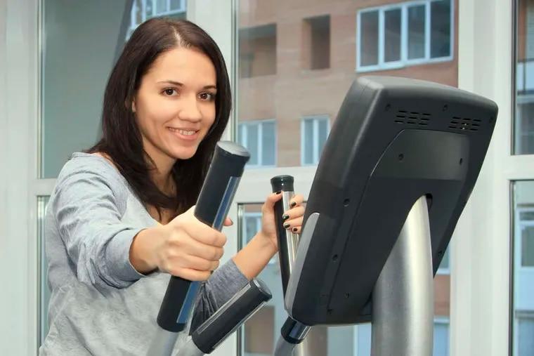 Runners can use an elliptical machine.