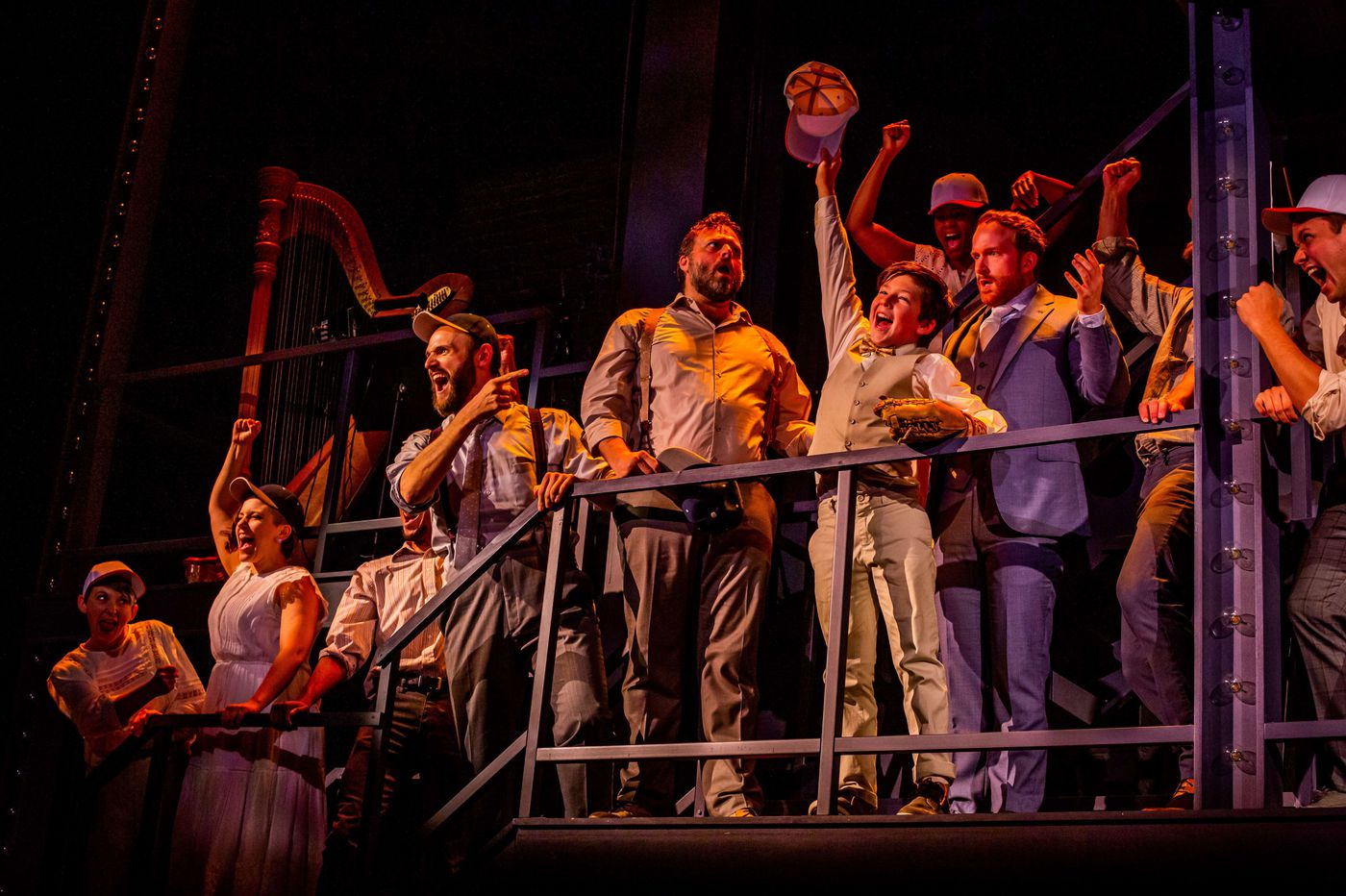 Arden's 'Ragtime' in the round: Great cast, soaring Broadway anthems, and a curious take on the Model T