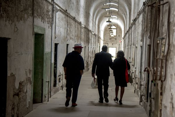 The last death-row inmate at Eastern State Penitentiary returns after 50 years in prison