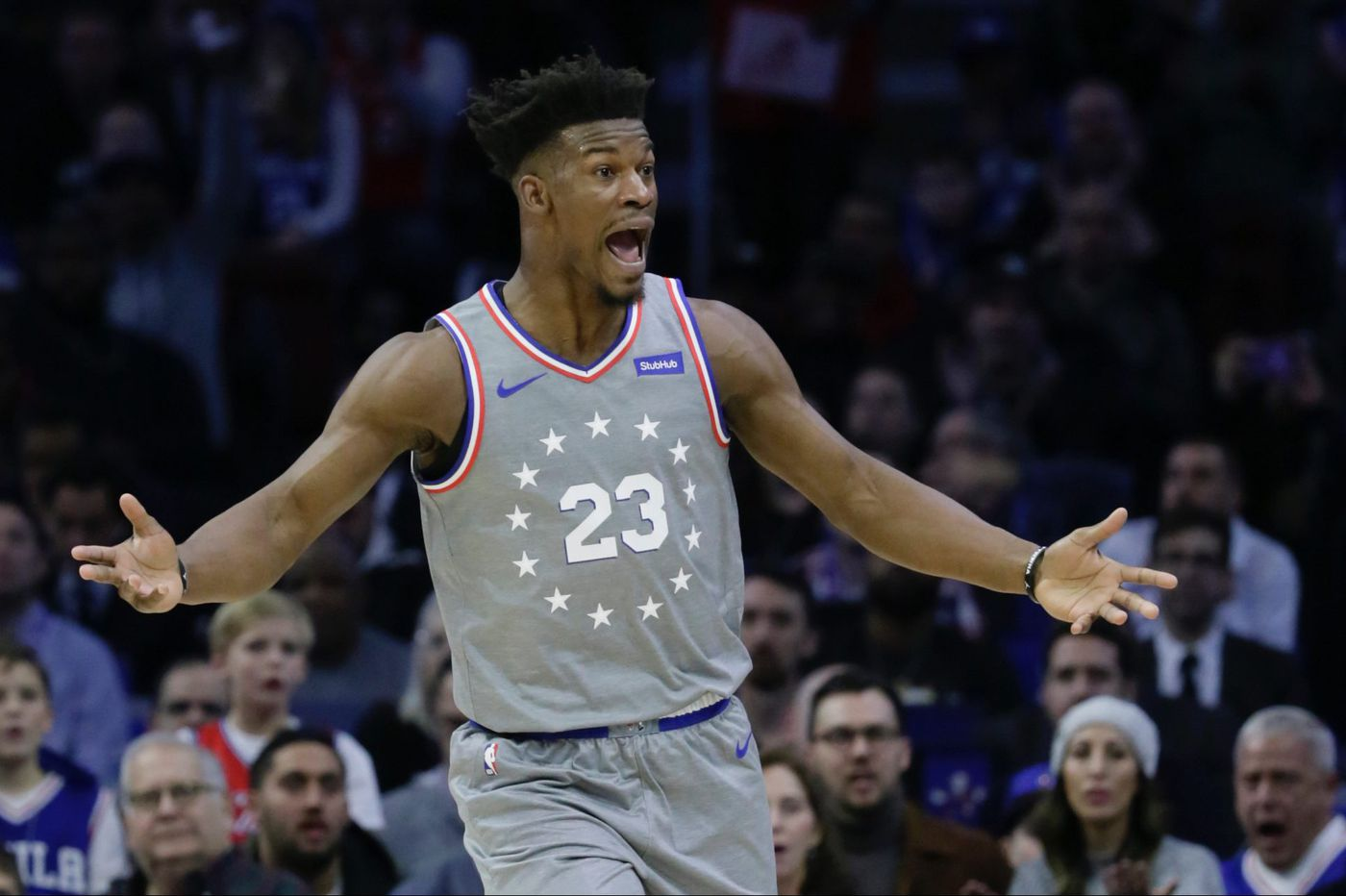 Sixers beat Jazz in Jimmy Butler's 28-point home debut