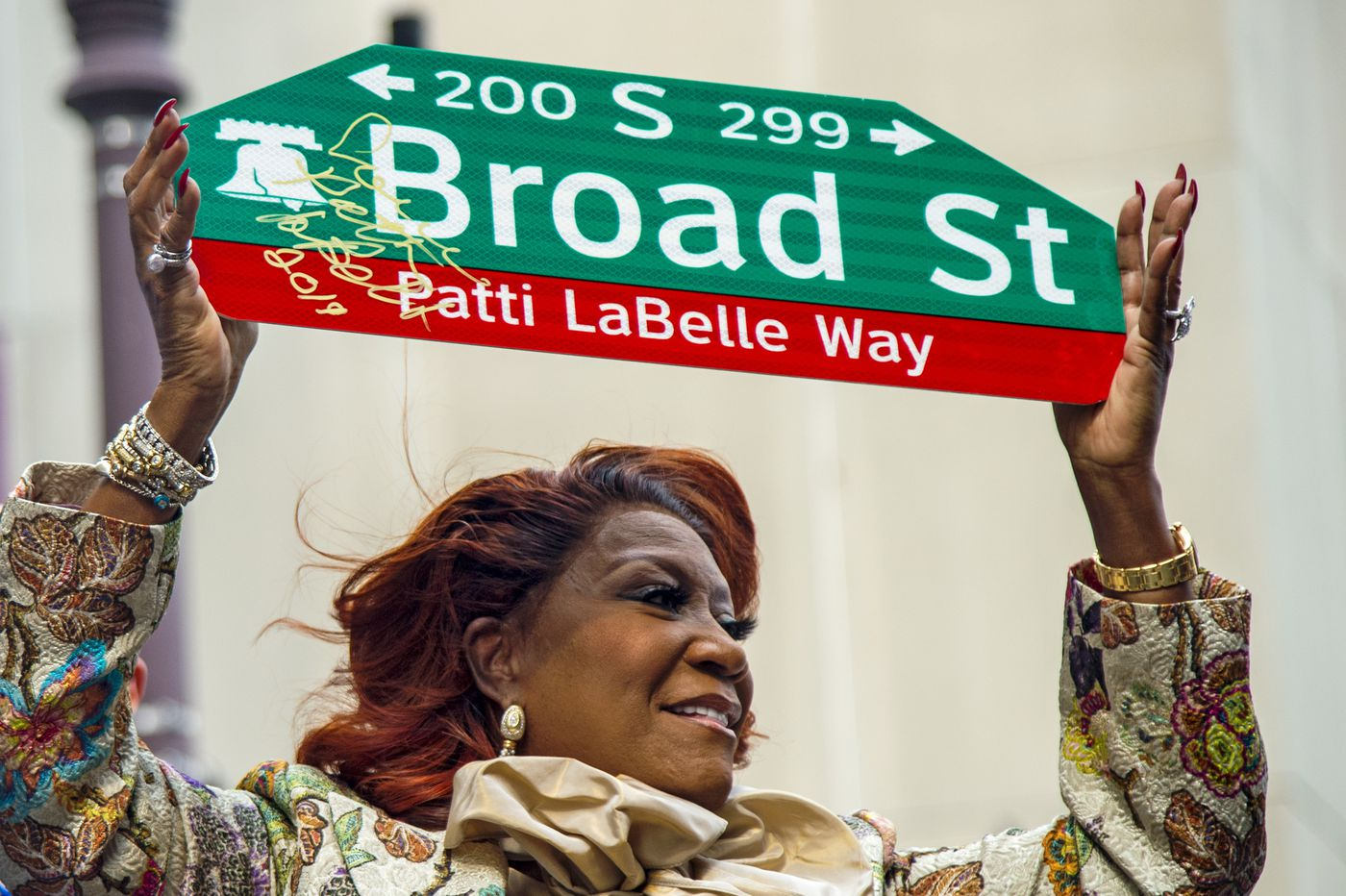 Patti LaBelle honored with her own Philly street