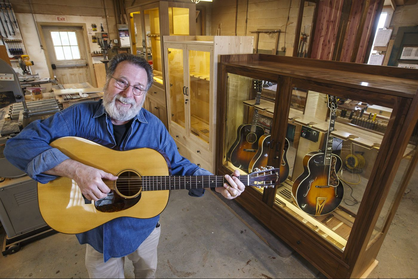 This Perkasie guy figured out how to keep your favorite rock star's guitars safe from their number one enemy