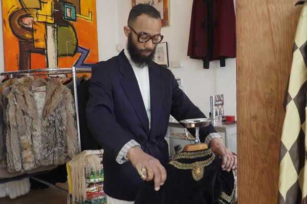 Germantown vintage clothier finds inspiration in black history