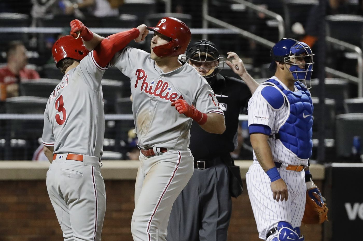 Phillies' bad road trip ends on a good note with revenge win over Mets | Bob Brookover