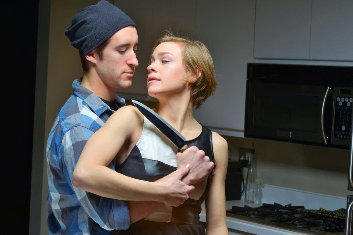 Theatre Exiles Smoke: Two sexy leads, lots of sex, but