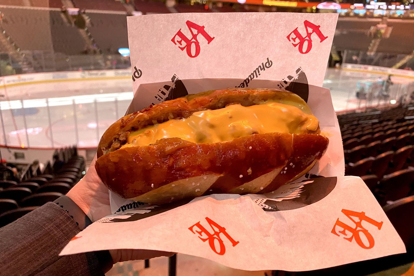 Who's got a beef with that new pork 'cheesesteak' at the Flyers and Sixers games?