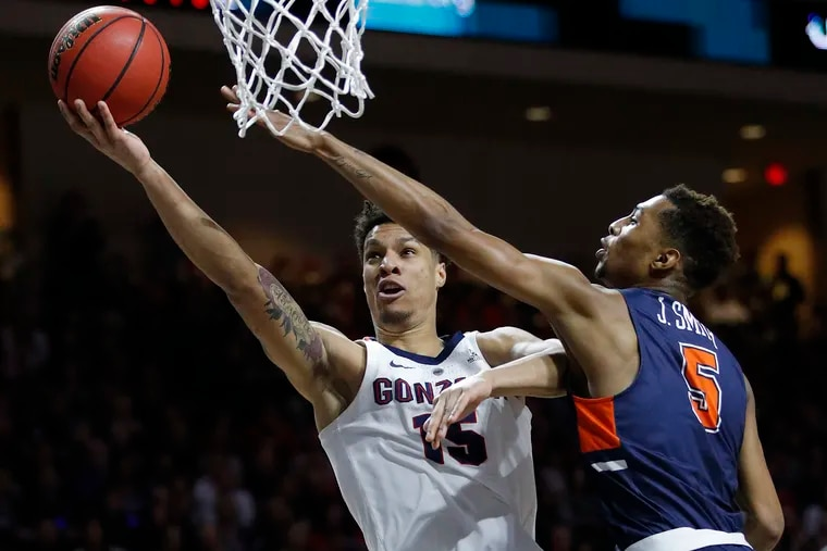 Brandon Clarke (15) and his Gonzaga teammates are a top seed in the NCAA Tournament.