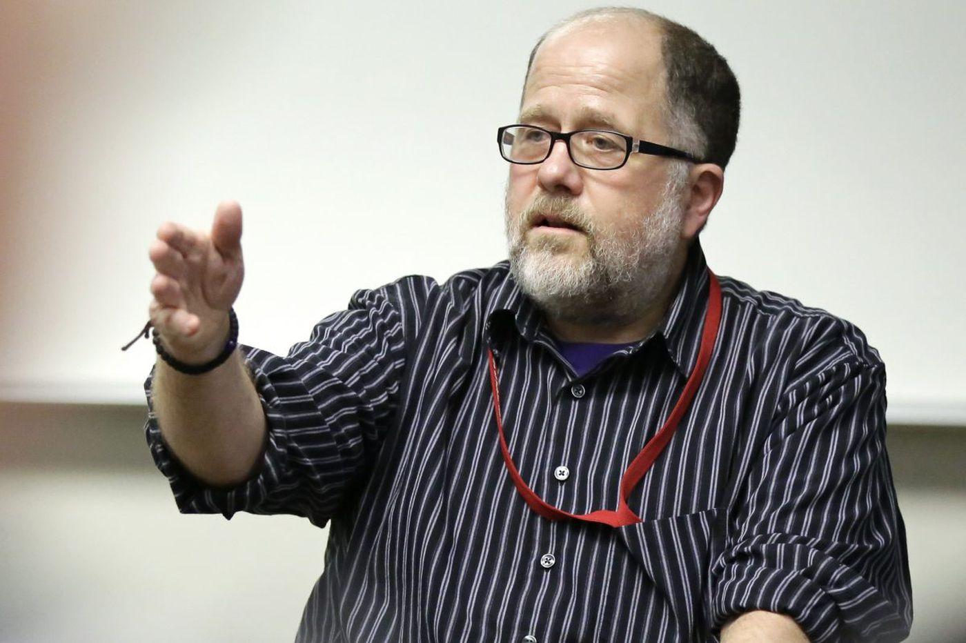 Temple professor Jeff Draine has Alzheimer's - and he's still teaching