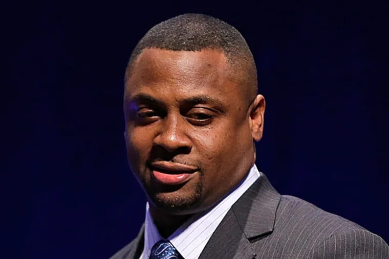 Former Eagles star Troy Vincent has been named the NFL executive vice president of football operations. (Matt Slocum/AP)