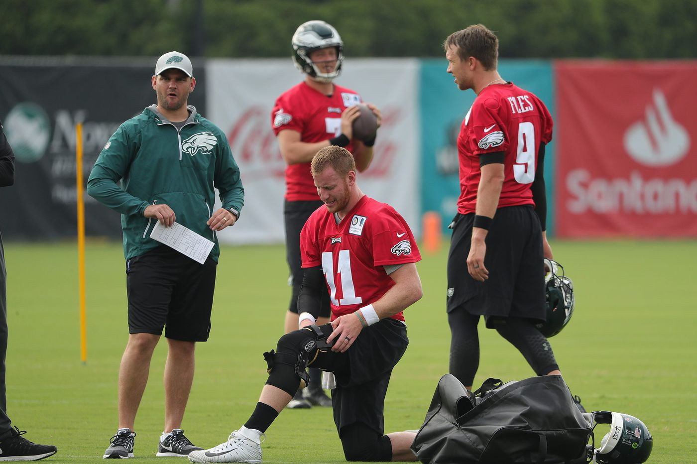 At this point, it's hard to tell Carson Wentz was injured | Early Birds