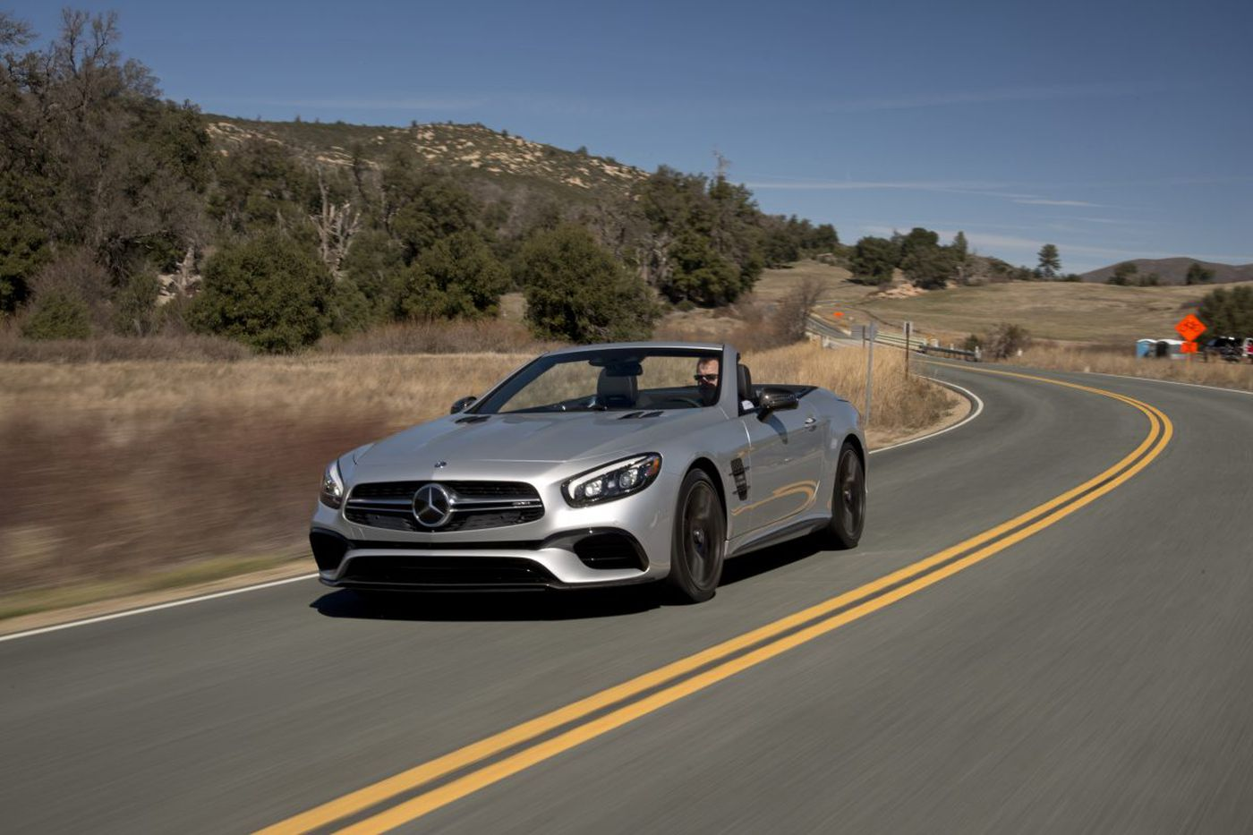 2017 Mercedes AMG SL63 is a high-performance, luxury roadster