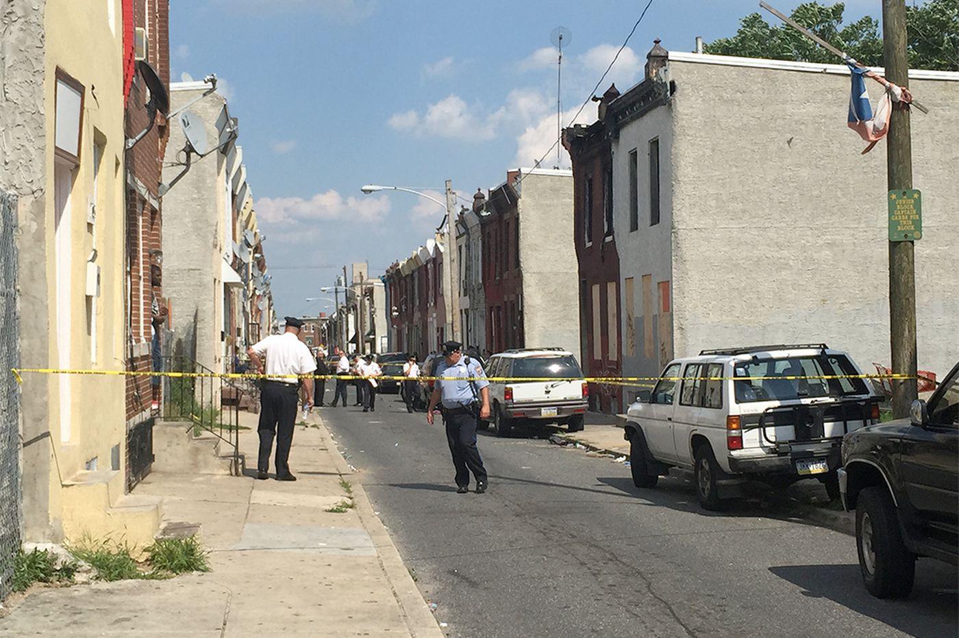 Seven people shot in Kensington