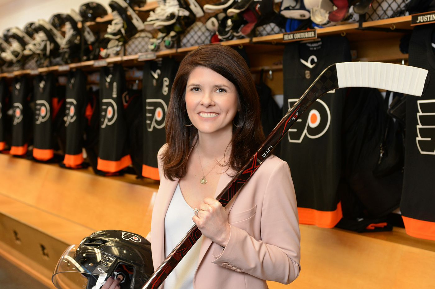 The NHL wants more women in leadership. The Flyers' Valerie Camillo is ahead of that game.