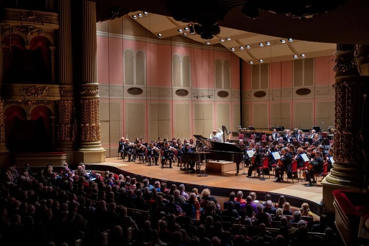 The Philadelphia Orchestra returned to the Academy of Music on Thursday, Jan. 23, 2020, to perform its first subscription-series concert there since moving to the Kimmel Center in 2001.