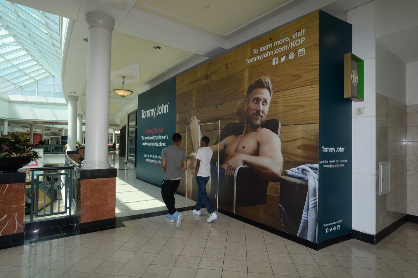 Tommy John to debut its first underwear store at King of Prussia Mall